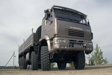 KAMAZ HIGH SIDED TRUCK 63501-40