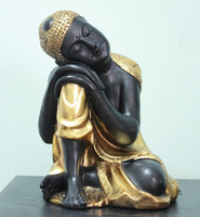 Resin sleeping Buddha statue DSF-HR31