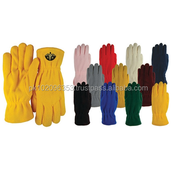 Fleece Gloves Lightweight Men Winter Warm Polar Fleece Driving Gloves Screen Touch Thick Warm Windproof Unisex Polyester Fleece