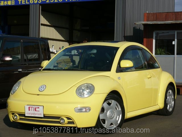 Goodlooking Volkswagen New beetle Year 2004 import a used car from japan at reasonable prices