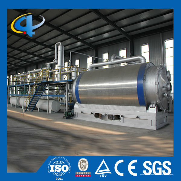 Automatic Recycling Tire Machine Waste Cable Pyrolysis Plant Waste Rubber to Oil
