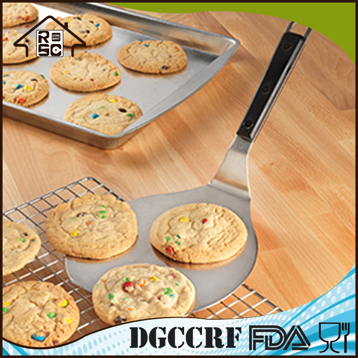 Stainless Steel Jumbo Cookie Pizza Shovel with Handle