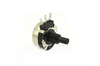 carbon film potentiometer rotary type 20mm plastic shaft