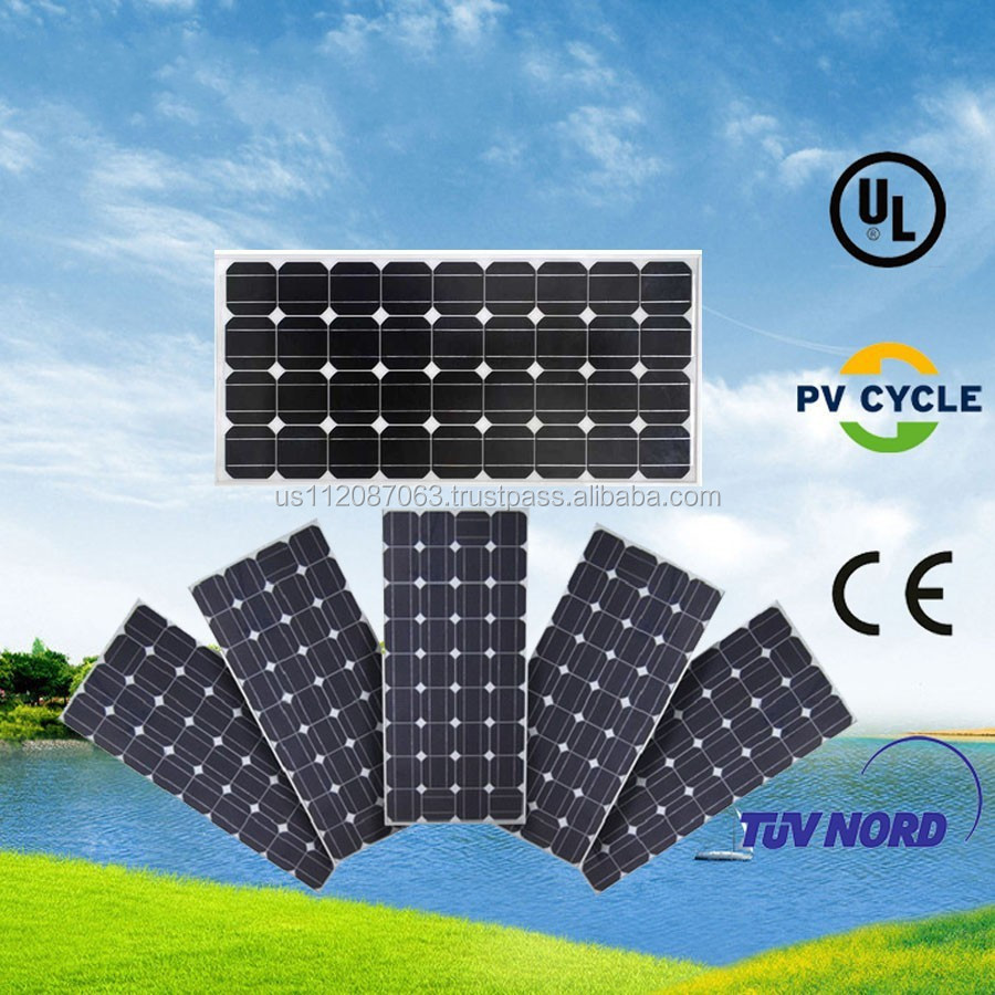 100kw solar panel price in China with ISO, TUV, UL, CE&CSA