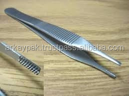 Adson brown tissue forceps/High Quality Steel/Thumb Forceps Tissue Forceps Tissue Pickups/Adson brown tissue forceps