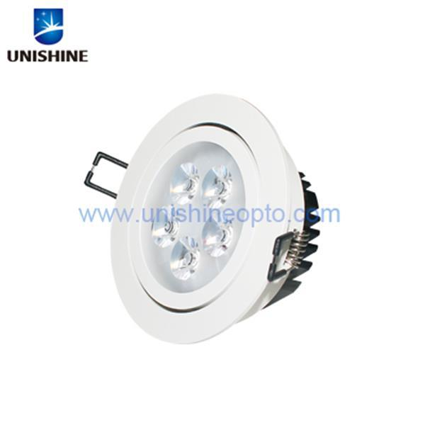 2015 5W AC100-240V LED Ceiling Downlight recessed round led lights for meeting room