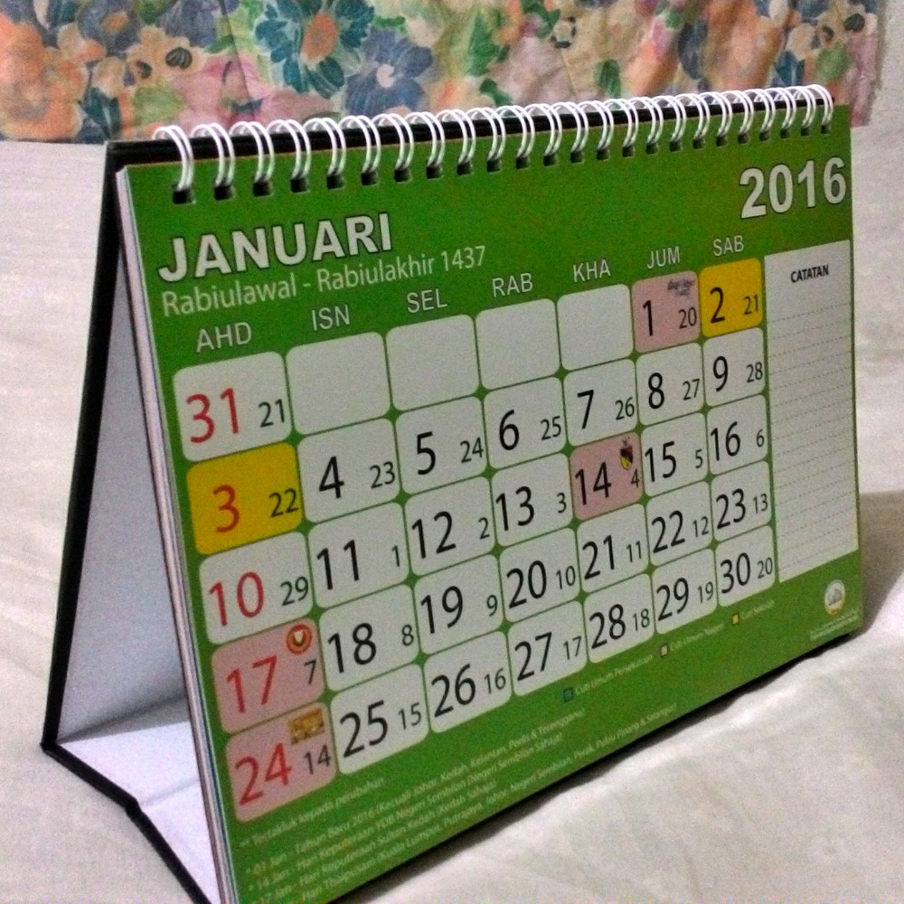 Calendar and Business Cards Printings