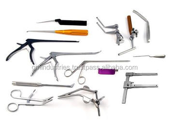 Orthopedics Spine Surgery Instruments Set Surgical instruments tools