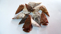 Wholesale Agate Arrowheads : Indian carved Stone Arrowheads for sale