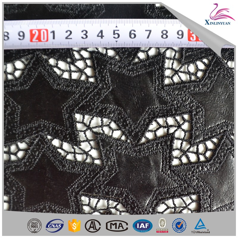 Low moq laser cutting embroidery