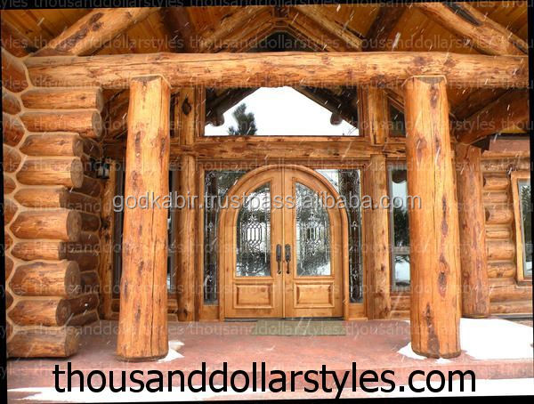 Factory direct price Double Front Wooden Doors apartments hot sale living room Luxury cheap latest design handmade Traditional