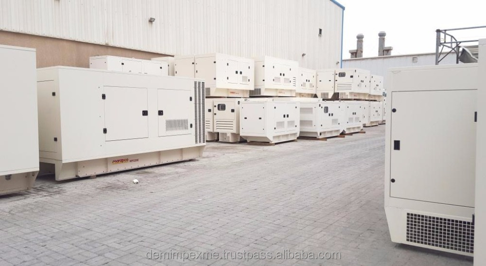 HEAVY DUTY SILENT DIESEL GENERATORS