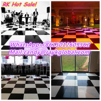 Newest design & hottest selling super slim 4'*4' digital dance floor