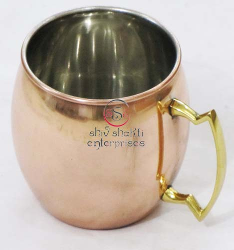 Moscow Mule Copper Mugs,Solid Copper Mule Mug, Copper Mule Mug