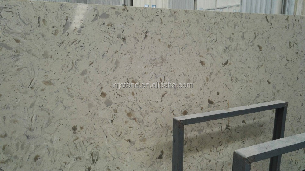 Quality White Quartz stone Table Top Exported from China
