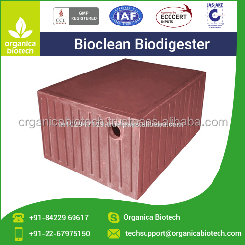 Bio digester Toilet System for Anaerobic Degradation of Human Waste