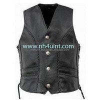 Leather Vset,Racing Vest,Spring Fashion Ladies Lapel Leather Vest Sexy Women & Men Leather Vest