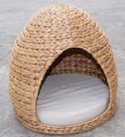 Vietnam Waterhyacinth Cat house With cushion pad