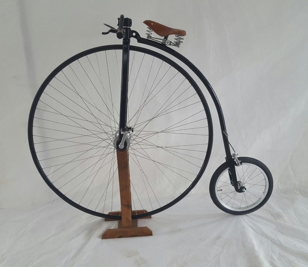high wheel bicycle, penny farthing