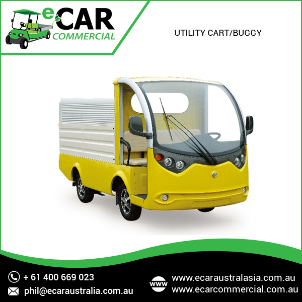 Cheap and Most Demanded Electric Utility Cart/Buggy for Commercial Clients