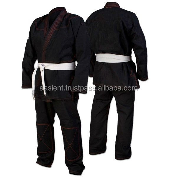 Black Custom BJJ Gi Kimonos/BJJ jujitsu Uniforms