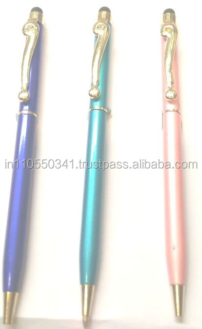 Metal Designer Color Mobile Touch Stylus Pen for EXPORT