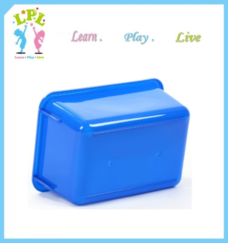 Factory break the mould eco-friendly red mini new pp toy storage box plastic