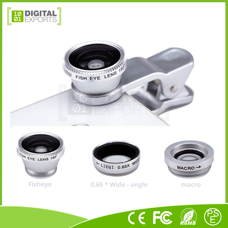 New 3 in1 lens, mobile phone 3 in 1 lens, android phone lens