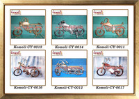 Handmade miniature motorcycle model of miniature bike various designs of metal motorcycle models