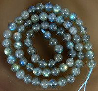 Natural AA, AAA quality Labradorite Beads with firing