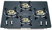 Gladius Built In Brass 4 Burner Hob