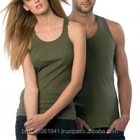 100% Cotton Unisex Singlet/Tank Top