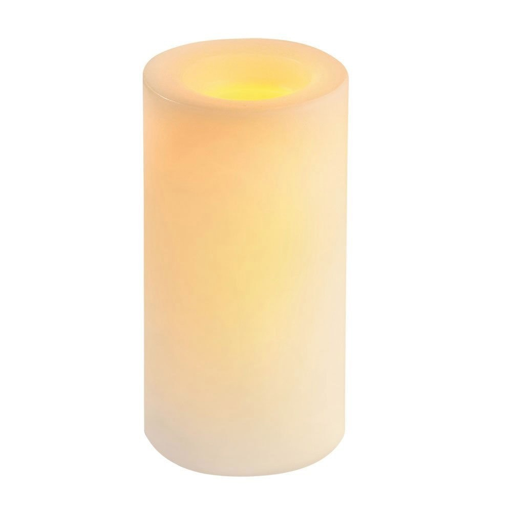 Vanilla Scented Flameless Candle - 6 inch (20 units/case)