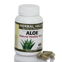 Aloevera healthcare supplement capsules for Smoothing and Glowing skin