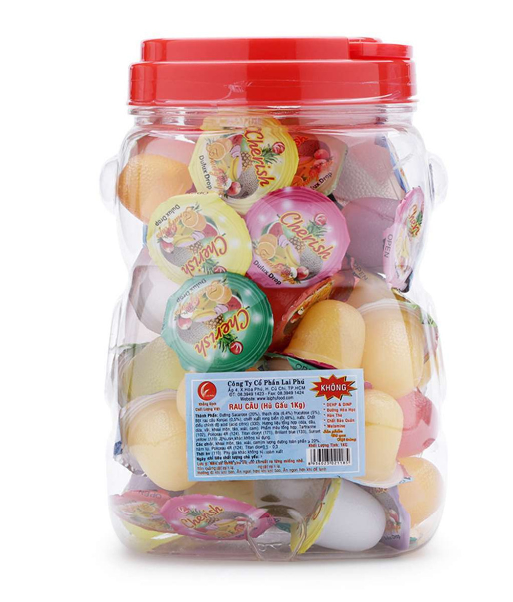 JELLY CUPS BEAR JAR 300g