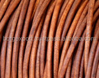 0.5mm Round Leather Cords from Borg Export