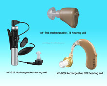 Rechargeable Hearing Aid/BTE hearing aid/ ITE hearing aid/ sound amplifier