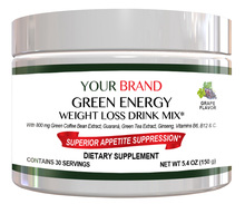 Energy & Weight Loss Drink Mix Private Label Supplement
