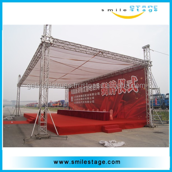 outdoor tent car trade show truss