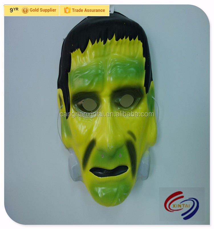 plastic zombie saw scary man face mask
