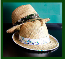 Producer Straw hat/Palm hat /Conical hat/ Boater hat/ Cappelli di paglia.jn