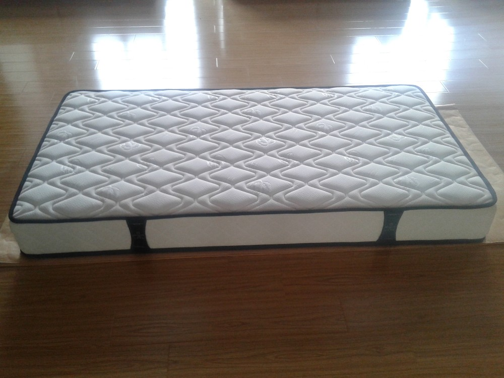 Cheap tight top 8 inch spring mattress wholesale factory compress package - Jozy Mattress | Jozy.net