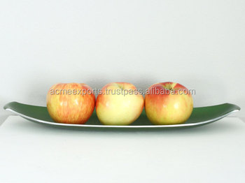 Decorative Aluminum Enamel Big Fruit Tray