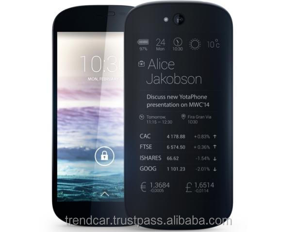 Android smartphone with 5 inch screen YotaPhone 2
