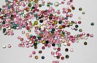 2mm to 8mm multi tourmaline oval round gemstones