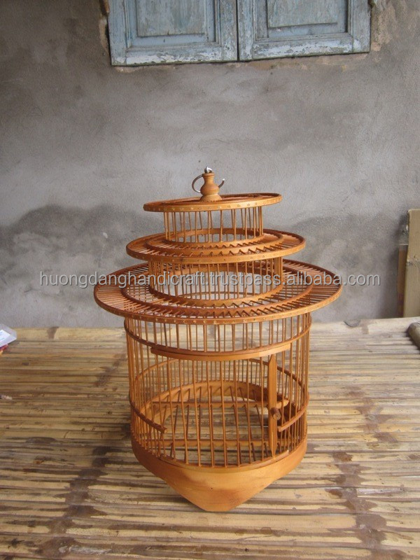 Pet House, Bamboo Cages Bird Handmade in Vietnam, Bird Cages