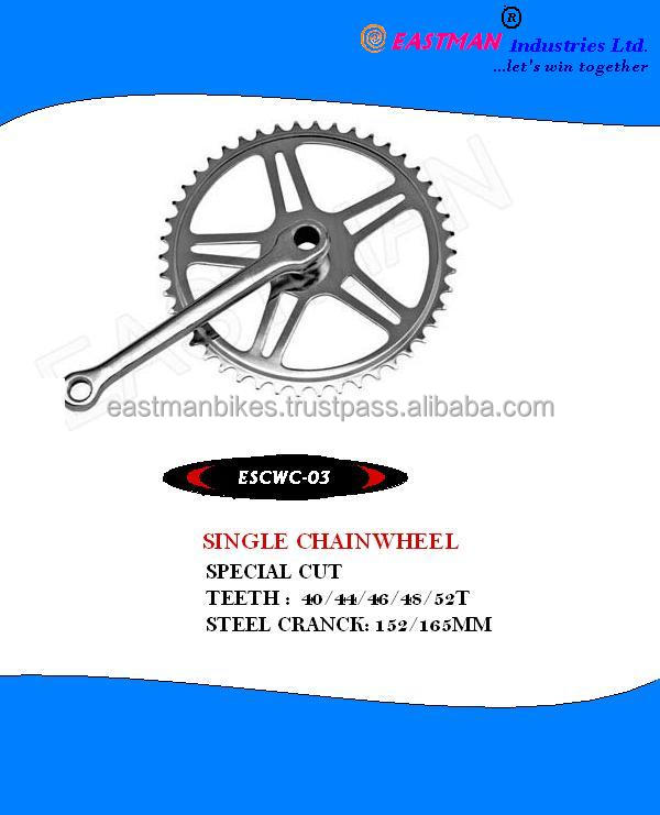 Steel Alloy Popular bicycle chain wheel/bicycle crank