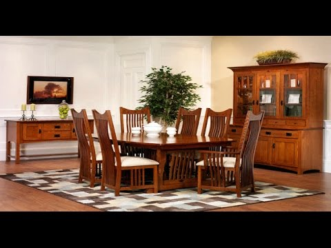 Get Quotations · Mission Style Dining Room Set | Mission Style Dining Room  Set Oak