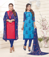 Jacquard Material Dress/Casual Daily Party Wear Salwar Kameez/Embroidery Dress Material Online Shopping In India Surat
