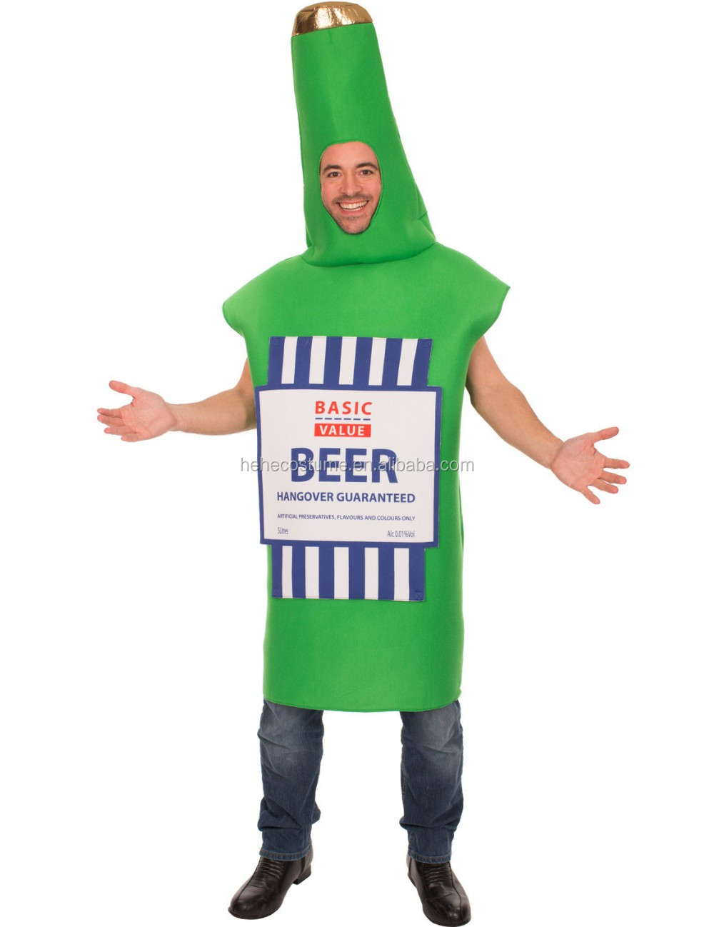Wife Beater Beer Bottle Costume